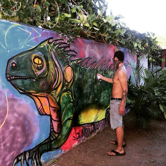 12 creating piece in costa rica