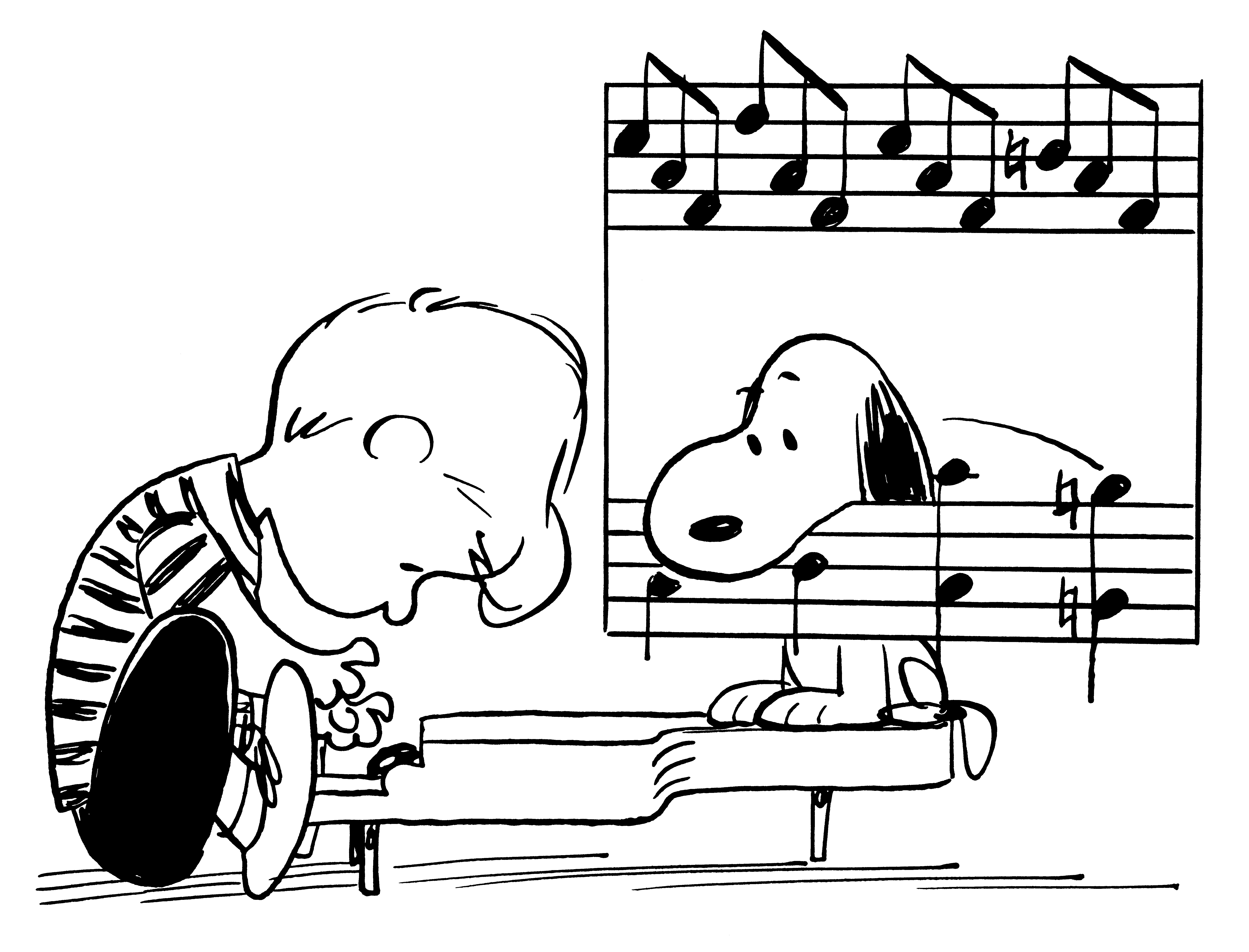 12 themes that make peanuts timeless threadless blog schroeder began playing beethoven on his piano even before he could talk in the comic strip he is the symbol of the artist striving for perfection biocorpaavc Images