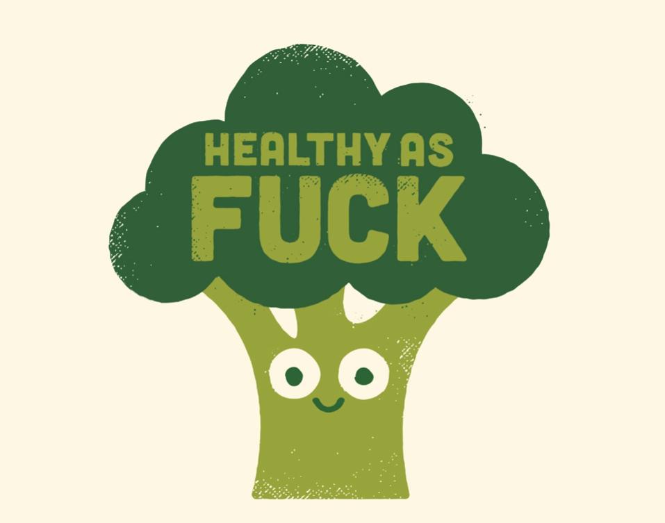 Healthy as Fuck Broccoli Raw Truth