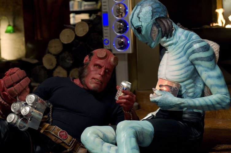 HB and Abe in Hellboy 2: The Golden Army (2008). Image courtesy of www.amazon.com