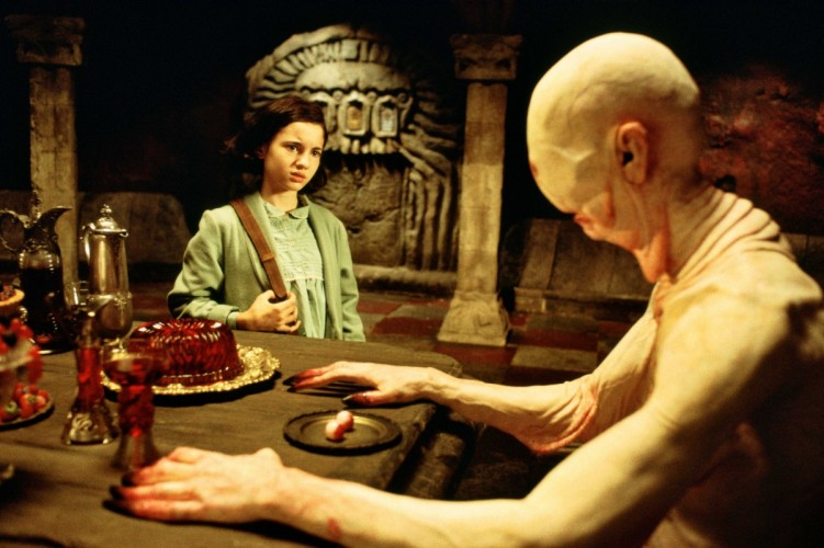 Ofelia and the Pale Man from Pan's Labyrinth (2006). Image courtesy of www.theplace2.ru/