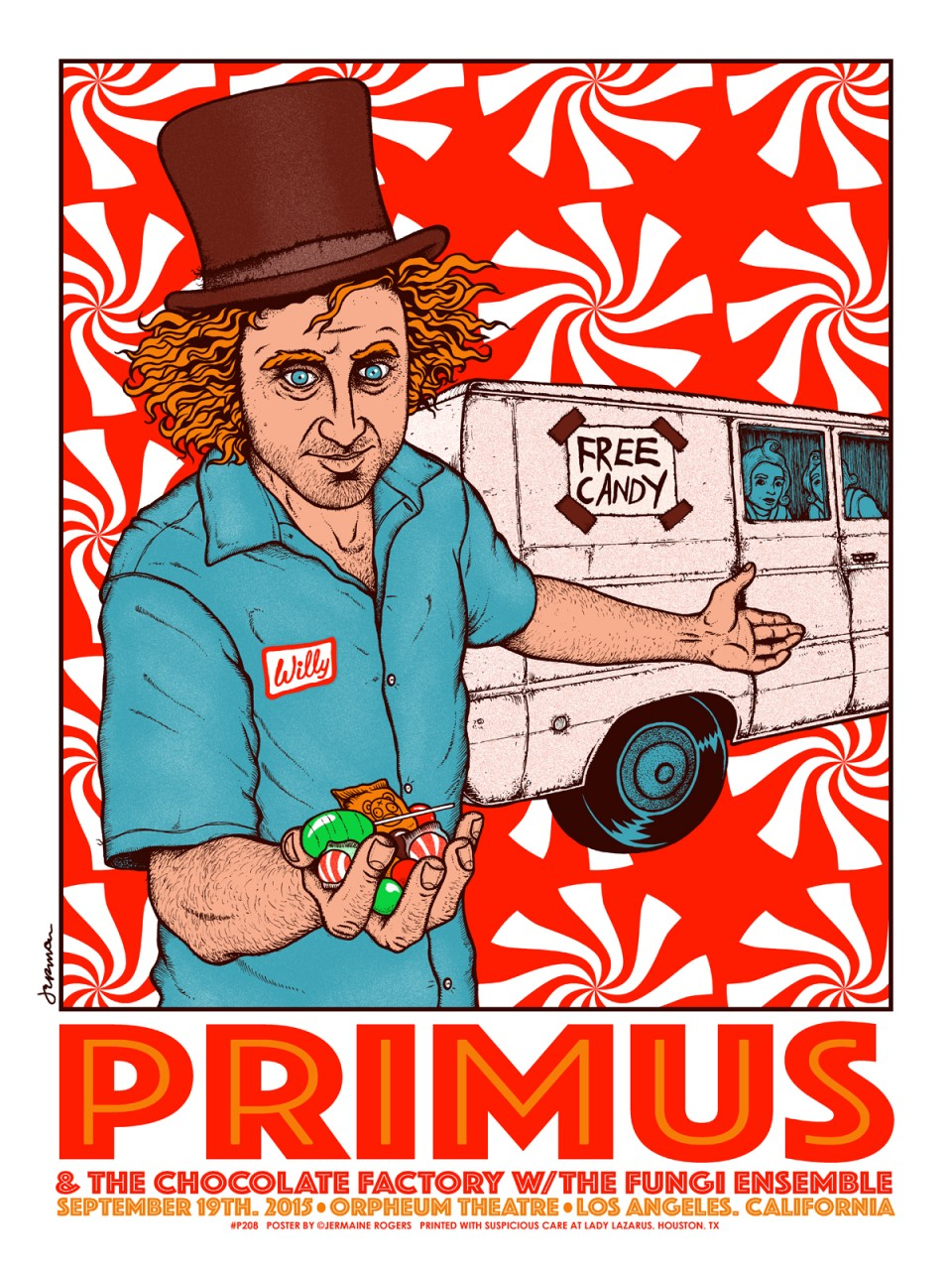 Primus, Los Angeles, CA by Jermaine Rogers