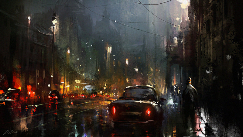 This Sci Fi City Art Will Make You Want To Move To The Future Threadless Blog